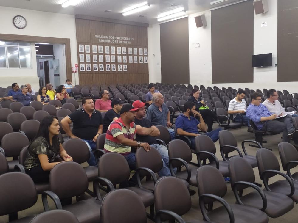 Câmara debate projeto dos ambulantes