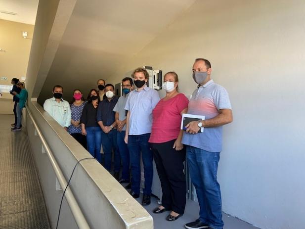 Câmara inaugura sistema de energia solar