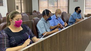 Audiência debate relatório do quadrimestre