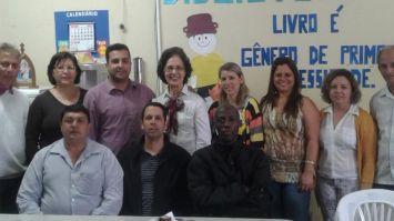Vereadores visitam Escola Municipal Hilarino Moraes