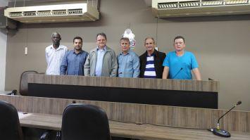 Diretor do Colégio Pio Brasileiro visita a Câmara