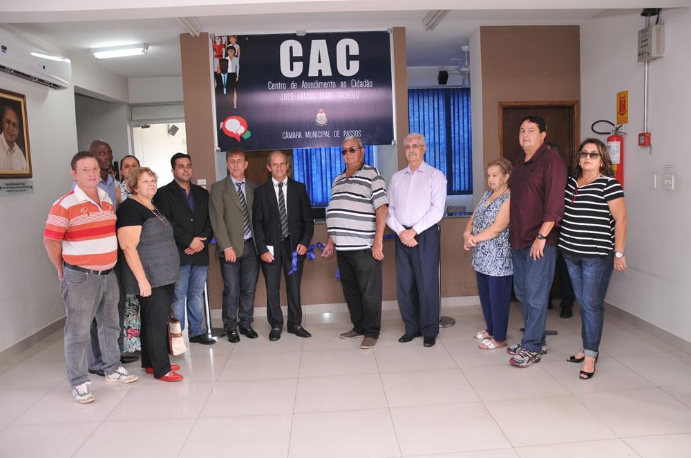 Câmara inaugura Centro de Atendimento ao Cidadão e Memorial